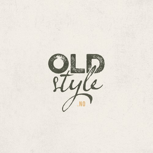 Create a vintage-style logo for Oldstyle.no