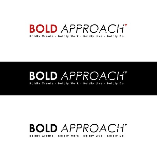 Logo For Bold Approach