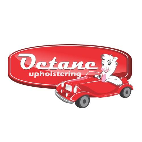 Logo for Octane Upholstering