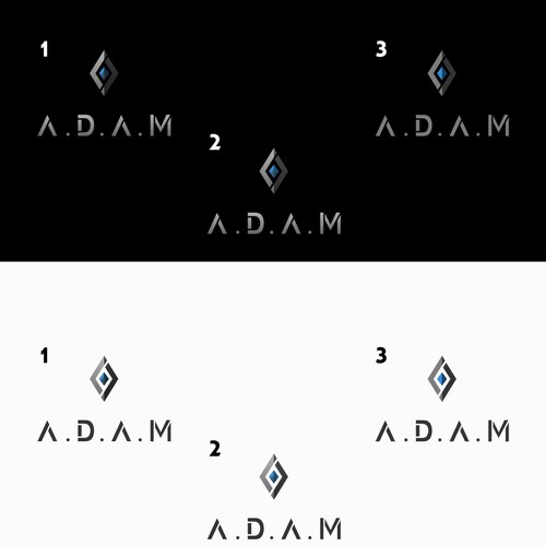 A.D.A.M movie logo 3 versions