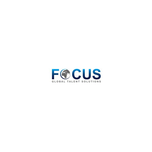 logo concept for Focus GTS (or Focus Global Talent Solutions)