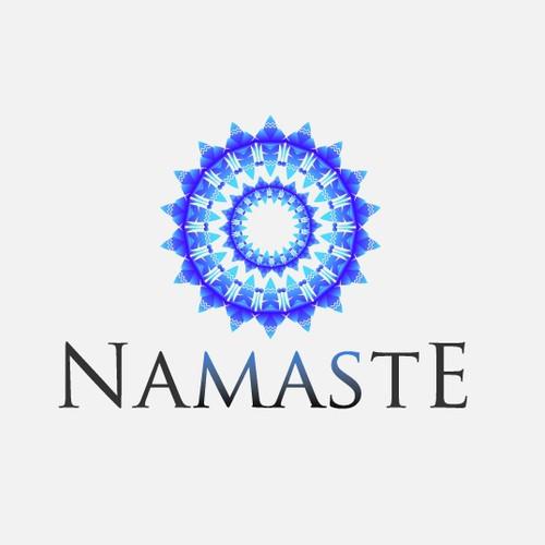 NAMASTE Mandala/Logo