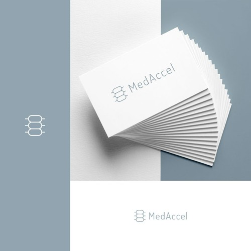 "MedAccel ""Spine"" Inspired Logo Design"