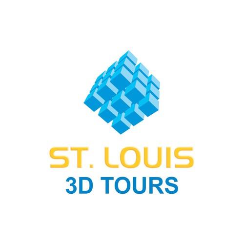 Create a Logo for a 3D Technology Company