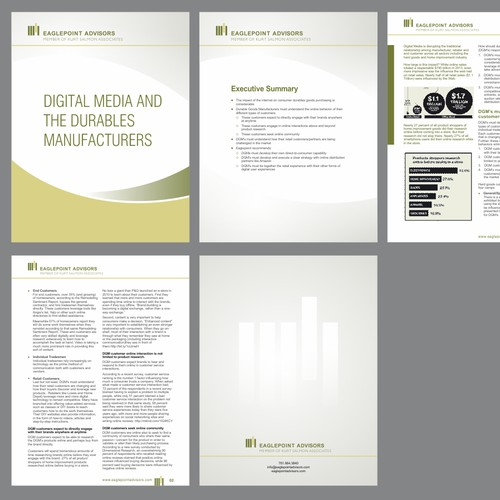 New MS Word Template Design For a White Paper