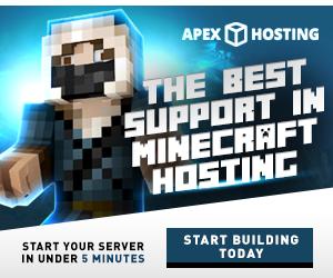 Minecraft Hosting Display Ads