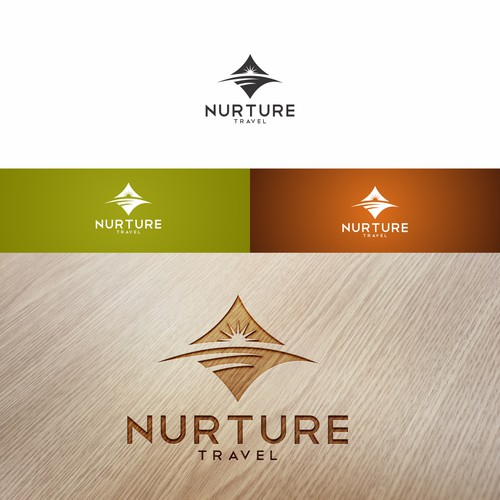 Inspiring logo for Nurture.Travel