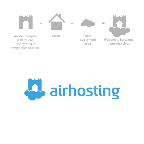 Logo for Airhosting