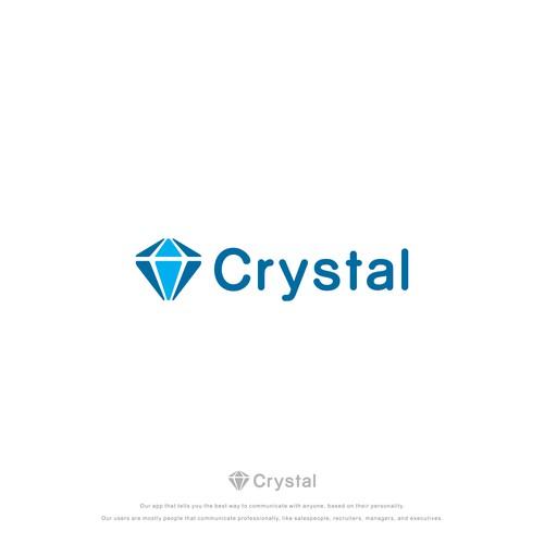 Create a fresh logo for Crystal