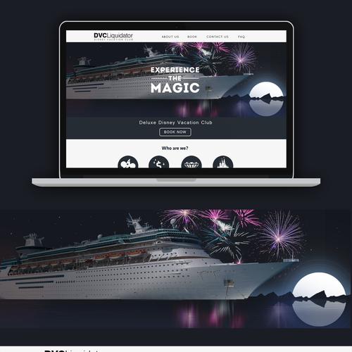 Disney Vacation Club Website Design
