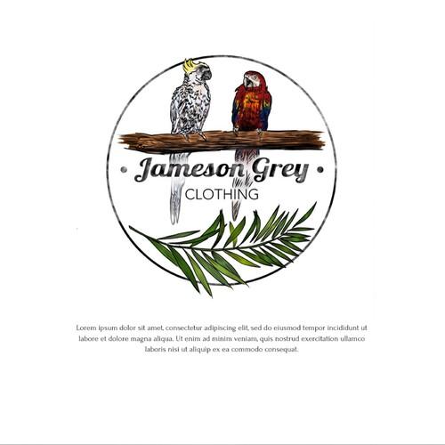 Logo for Jameson Grey Clothing
