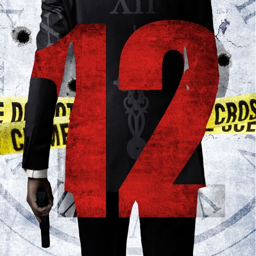 12 (Suspense Book Cover)