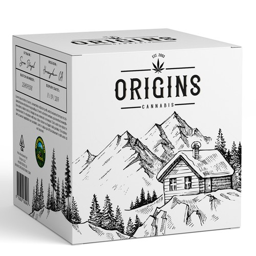 Cannabis packaging design – Farm