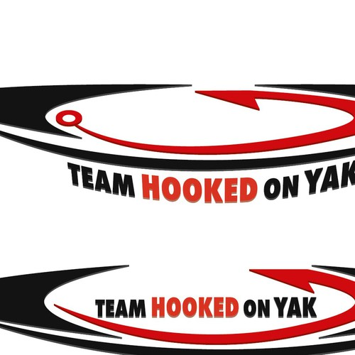 FUN PROJECT - Team Hooked on Yak LOGO