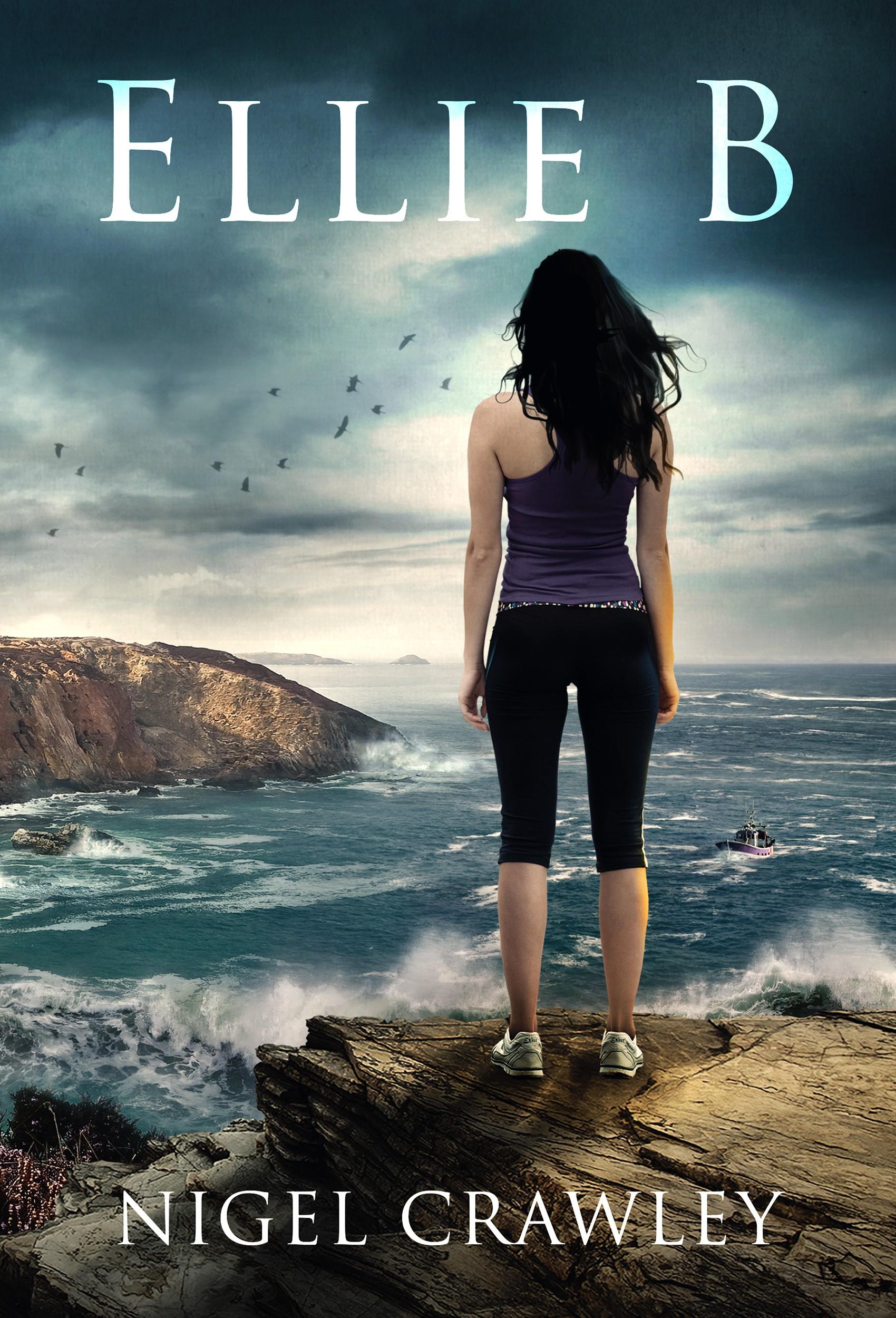 Book cover design for my new novel Ellie B
