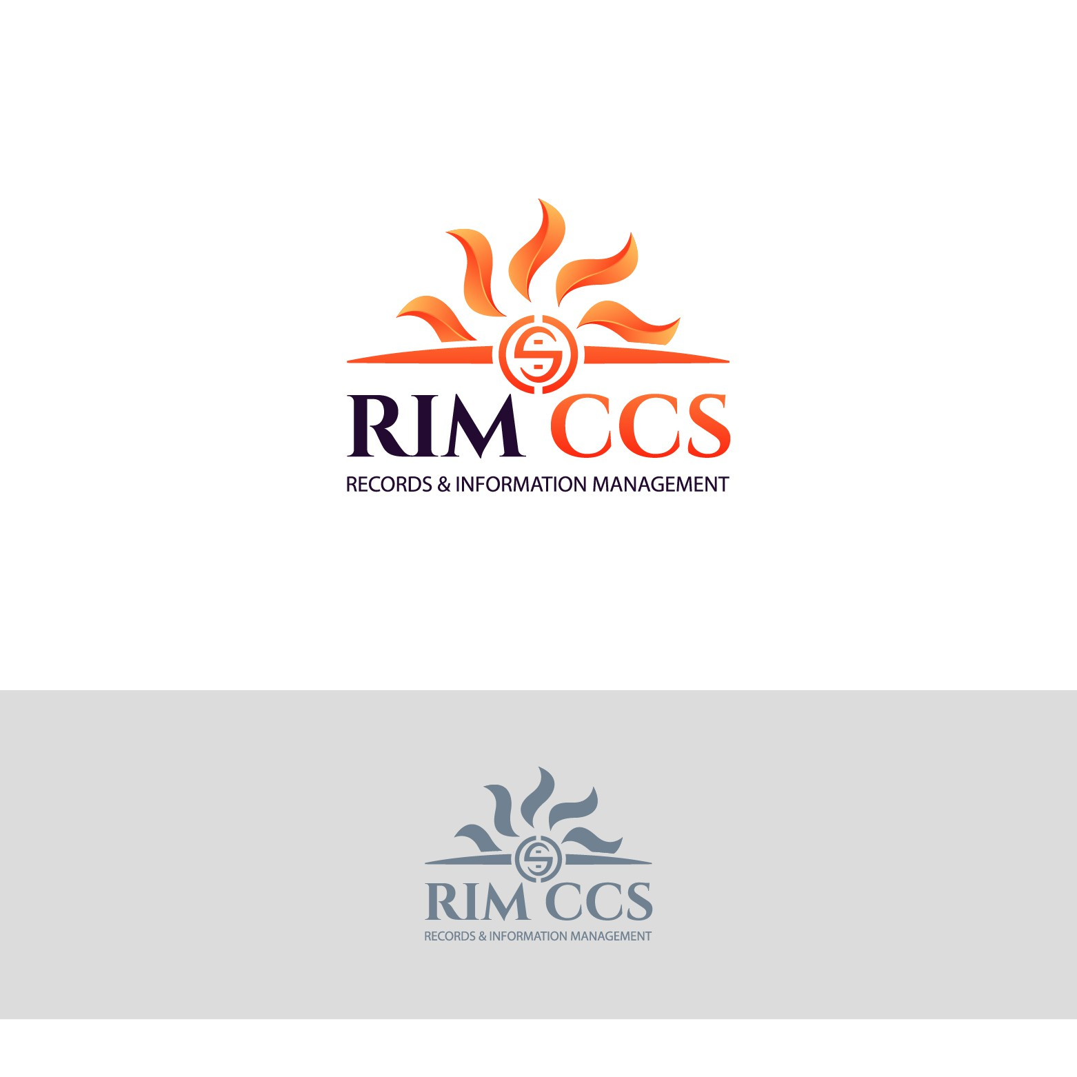 Design a shining, unmistakable logo for our Records Management services organization!