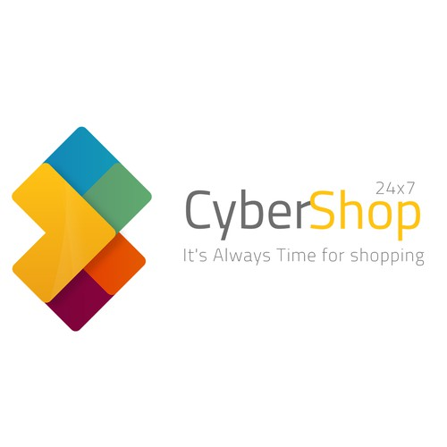 Cyber Shop First Logo