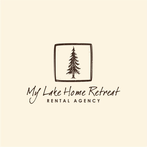 Logo design My Lake Home Retreat