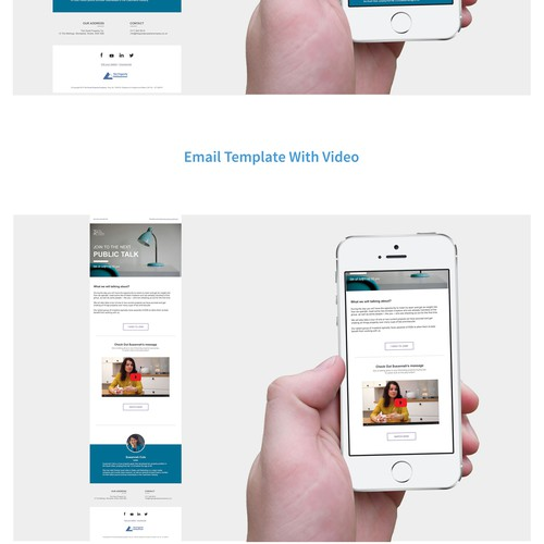 Responsive MailChimp Mail Template