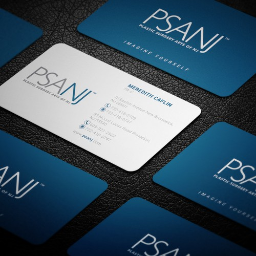 Business cards for PSANJ