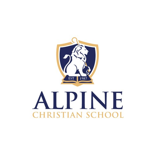 Logo for Christian School