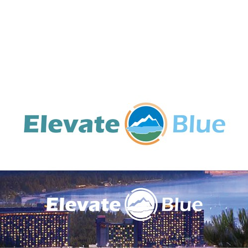 logo consep for elevate blue