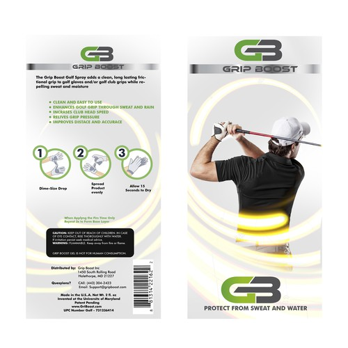 Grip Boost-Golf Gloves