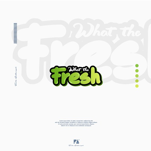 WHAT THE FRESH Logo Concept