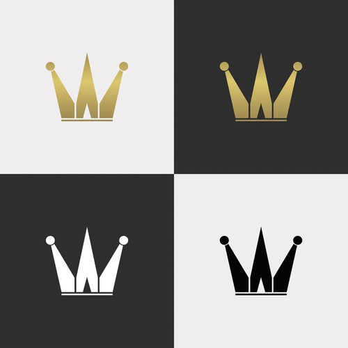 Royal Crown Logo for fit cap and snapback