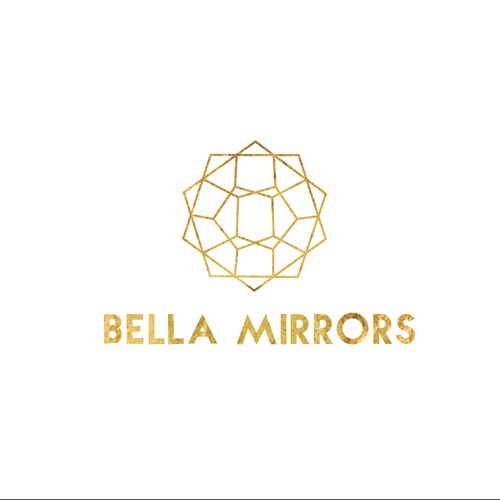 logo for a high end mirror company