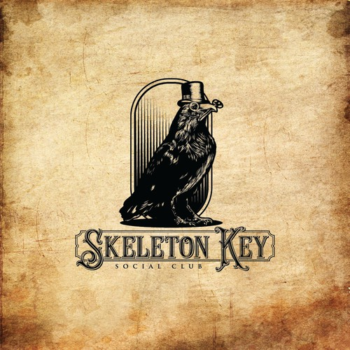 Logo design  for skeleton key