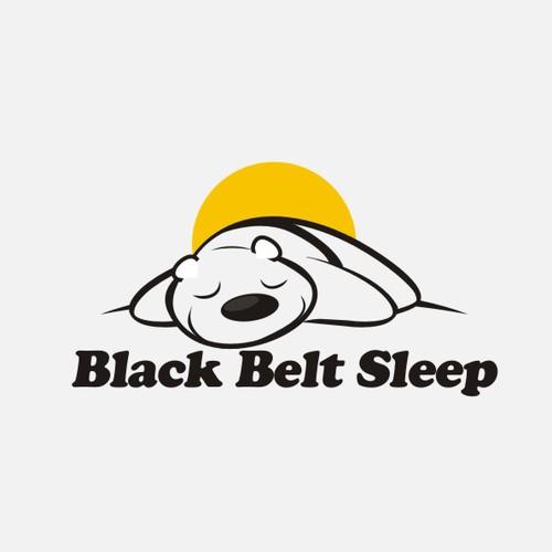 Create the next logo for Black Belt Sleep