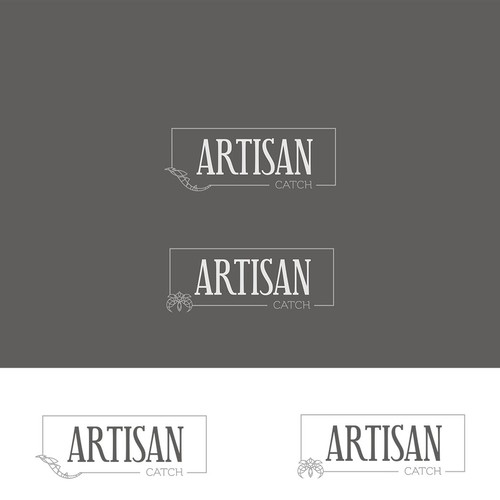 Clean and elegant logo for artisan/eco-committed aquaculture farmers to American chefs, restaurateurs, food organizations and consumers.