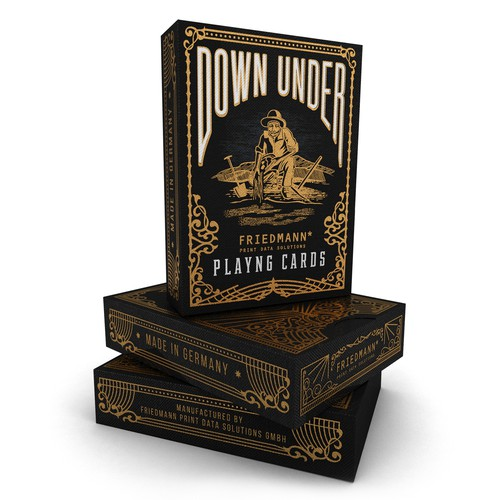 Luxury Detailed Packaging For Poker Game