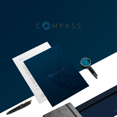 Luxurious logo for Compass