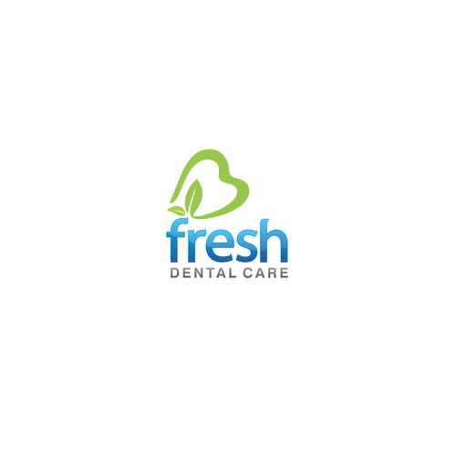 A screaming fresh concept for a dental care company