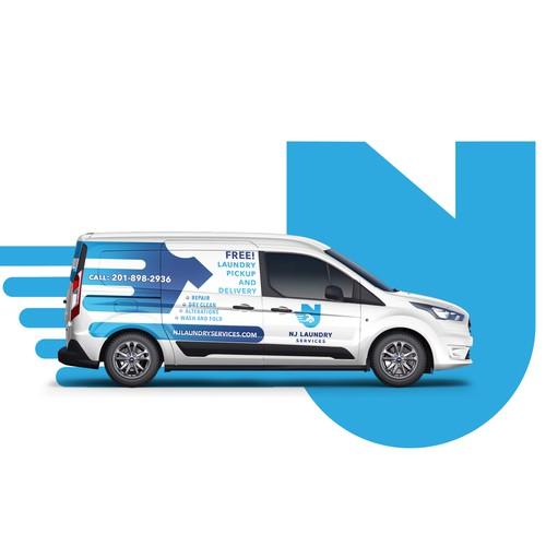 Van Wrap for Laundry service