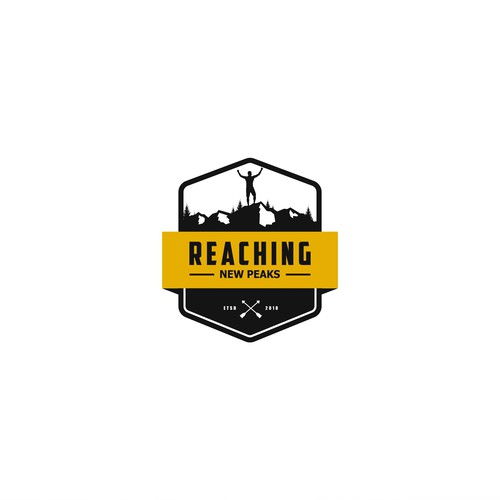 Design a logo for a new Outdoor Community: Reaching New Peaks