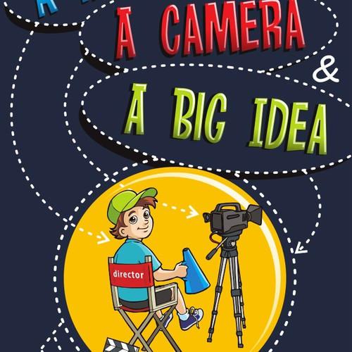 Cover Illustration Wanted For Kids Movie Making Book!  Further Work On Offer Too!