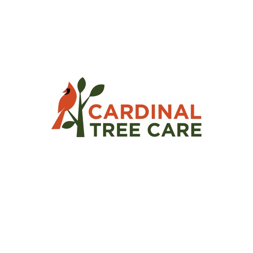 Logo design for Cardinal Tree Care