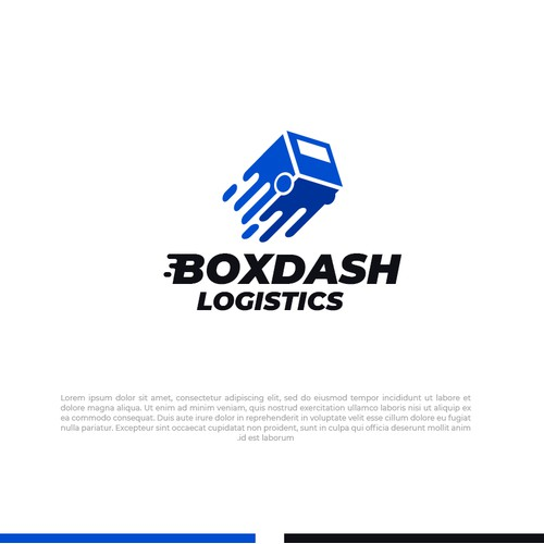 Box Dash Logistics Logo