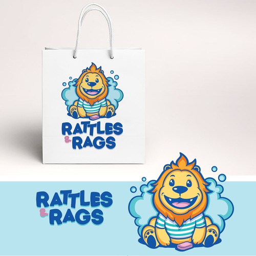 Logo for Rattles & Rags