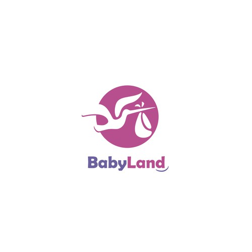 Logo concept for Baby Land