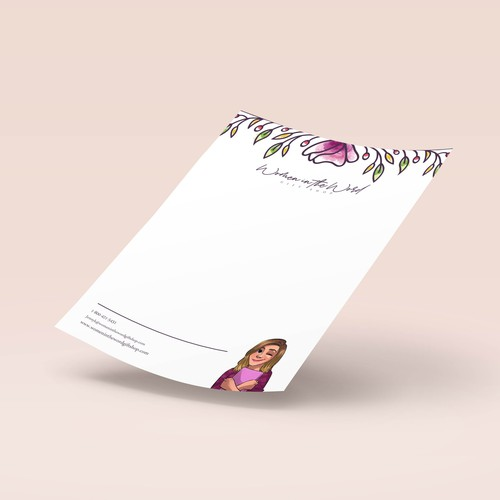 Letterhead Design for Women in the Word