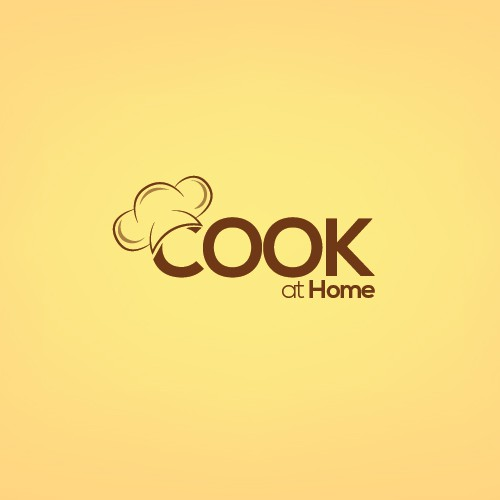 HELP with LOGO for social cooking website COOK AT HOME