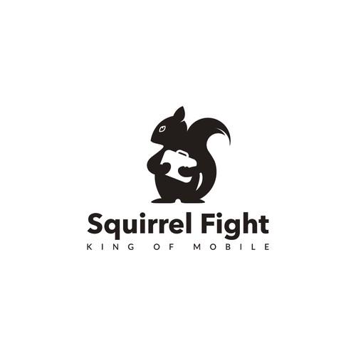 Create logo for Squirrel Fight