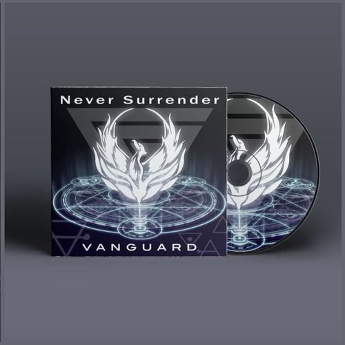 Design album cover for Vanguard
