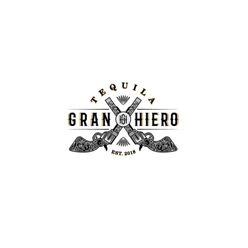 recognizable logo for Tequila brand