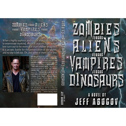 Cover Book Design for Jeff ABUGOV