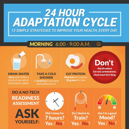 Adaptation Cycle Infographic